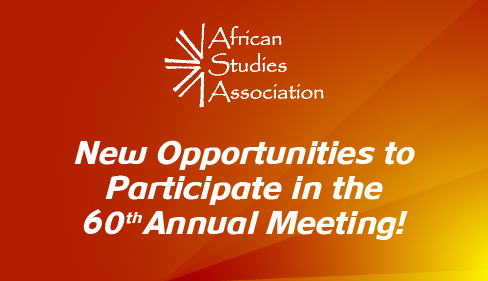 It is not too late to present at the 60th ASA Annual Meeting!